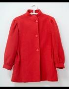 Włoski płaszcz Vintage wełna 42 44