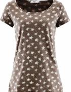Bluzka t shirt w gwiazdki bawełna
