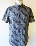 Koszula Męska Wzory M 38 Calvin Klein Slim Fit