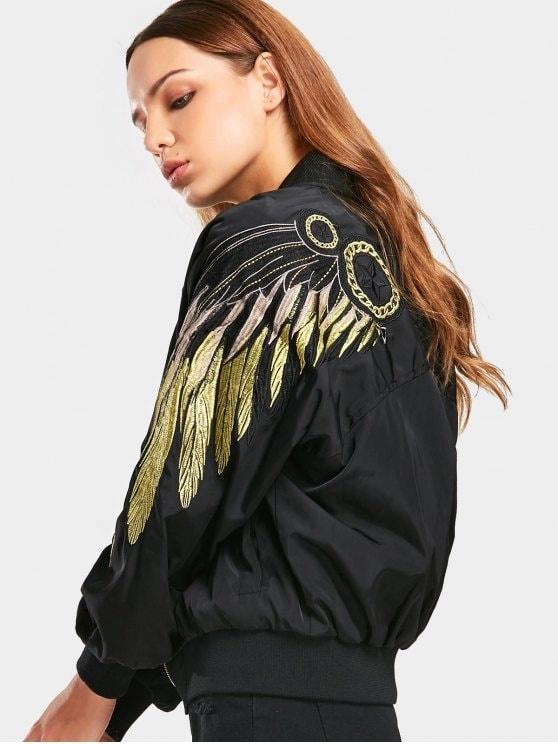 Odzież wierzchnia Czarna nowa kurtka S