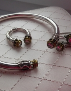 Autorski komplet biżuterii