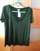 Nowy tshirt zielony H&M...