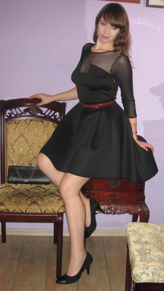Okazja komplet wieczorowy okazjonalny asymetryczna spódnica i bluzka M