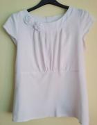 biała elegancka bluzka XS S