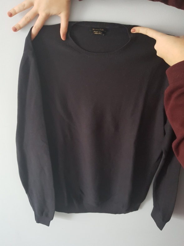 Cienki męski sweterek Massimo Dutti...