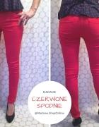 Czerwone spodnie...