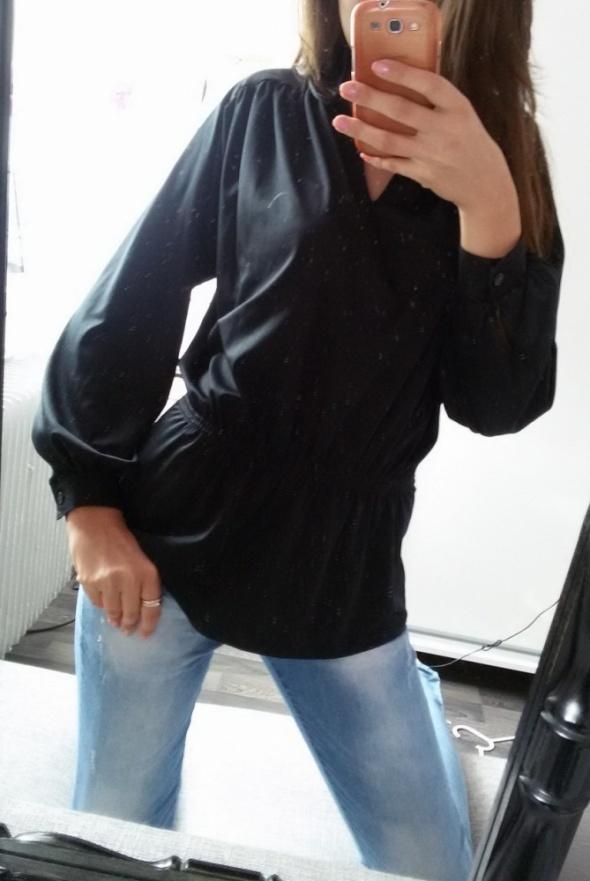 Elegancka czarna tunika