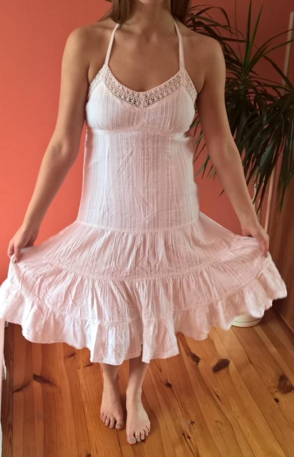 biała sukienka bawełniana rozmiar 42...