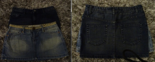 Spódnice Dwie spódniczki HM Pimkie S