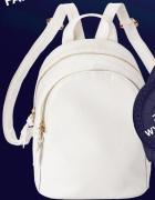 Biały mini plecak Avon Nicole Nowy