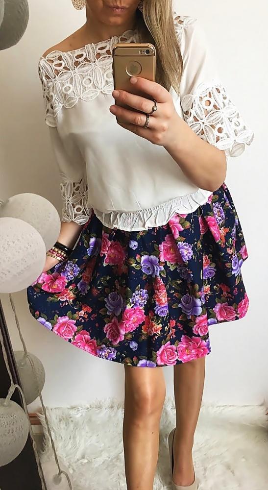 Eleganckie Flower skirt