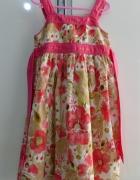 Śliczna sukienka Cherokee rozm 116...