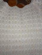 piękny sweterek ecri