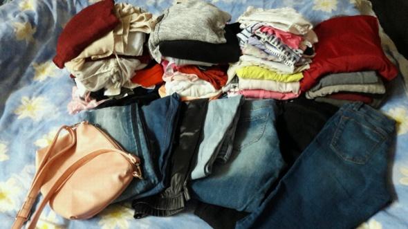mega zestaw paka 100 sztuk ubran...
