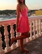 Neonowa H&M różowa M L...