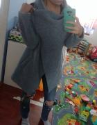 Narzuta sweter płaszczyk