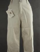 Lafei Nier Nowe spodnie jeansowe beżowe 29 XL 42
