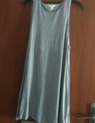 Szara sukienka basic H&M...