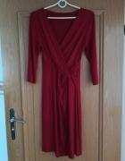 Sukienka suknia MIKOS 38 M czerwień...