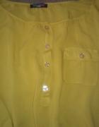 Piękna nowa bluzka musztardowa miodowa
