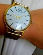Zegarek Calvin Klein na bransolecie...