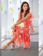 sukienka bpc 50 brązowa