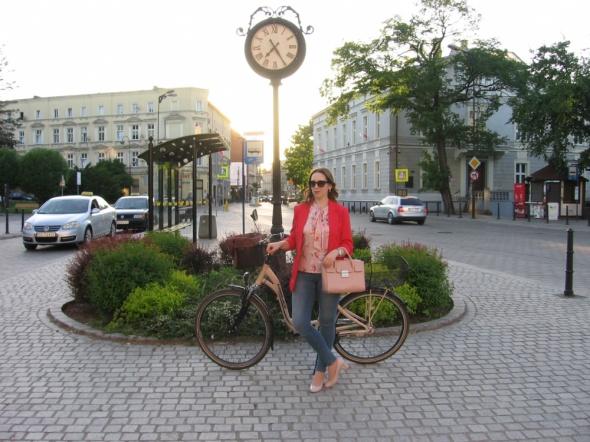 Blogerek Czerwień i pudrowy róż