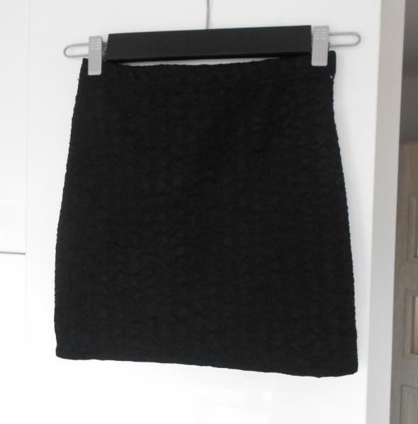 Spódnice Atmosphere czarna mini bodycon spódniczka dopasowana