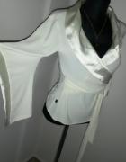 Nowa piękna bluzka dekolt kopertowy