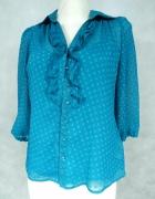 BHS Elegancka bluzka w groszki 38 M