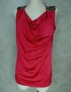 George Elegancka róż bluzka z Koralikami 42 44