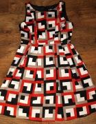 Kolorowa sukienka M L...