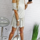 Sukienka Basic Beige