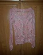 Sweterek ażurowy kolorowy