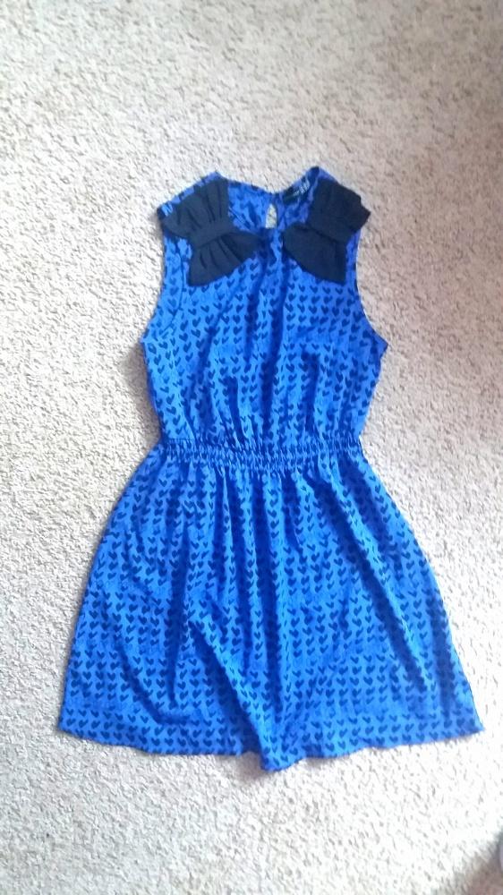Suknie i sukienki Chabrowa sukienka serca Atmosphere 36