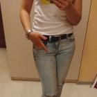 Spodnie damskie jeans S