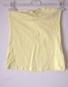 Cytrynowa żółta bluzka esmara 36 S top must have marszczenia...