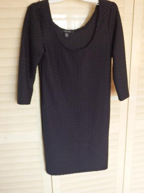 Suknie i sukienki Sukienka prosta intensywnie czarna