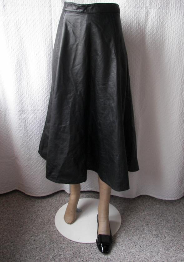 Spódnice vintage spódnica skórzana 44