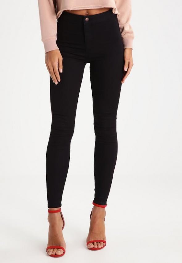 Spodnie Czarne rurki New Look Super Skinny Jenna 42