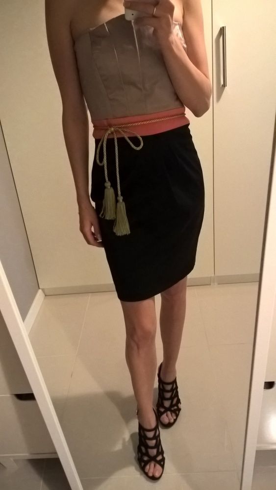 Suknie i sukienki Asos piękna sukienka