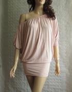 Gina Tricot sukienka oversize opuszczane ramiona 3