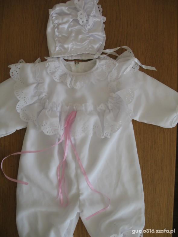 Komplety Ubranko do chrztu dla dziewczynki 68