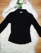 Czarna koszula na zamek Pimkie XS S...