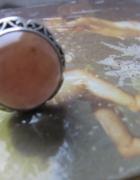 złoty pierścionek koronka warmet
