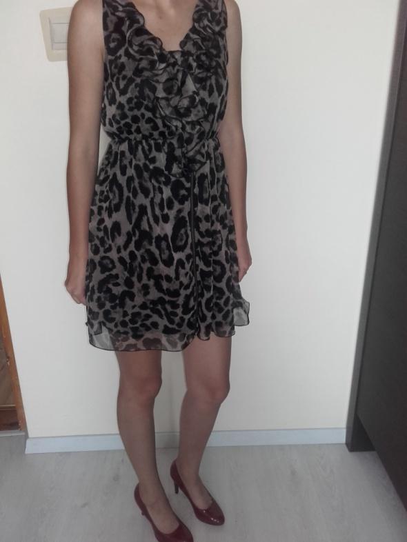 Sukienka w panterkę...