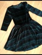 Werulowa butelkowa sukienka w kratkę m ASOS