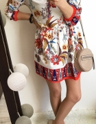 Sukienka Damska folklor rozkloszowana M