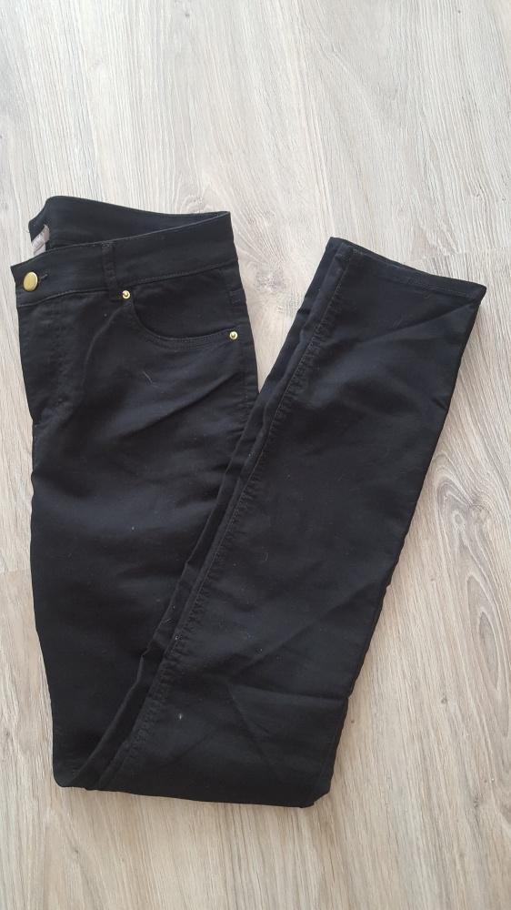 Czarne spodnie H&M XXL 44 nowe