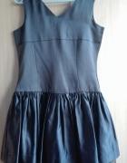 Czarna sukienka rozmiar XS
